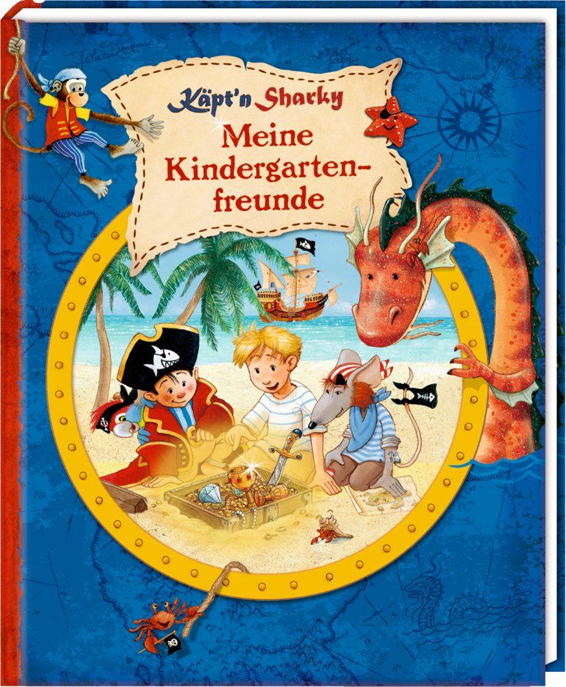 Meine Kindergartenfreunde - Freundebuch - Käpt'n Sharky