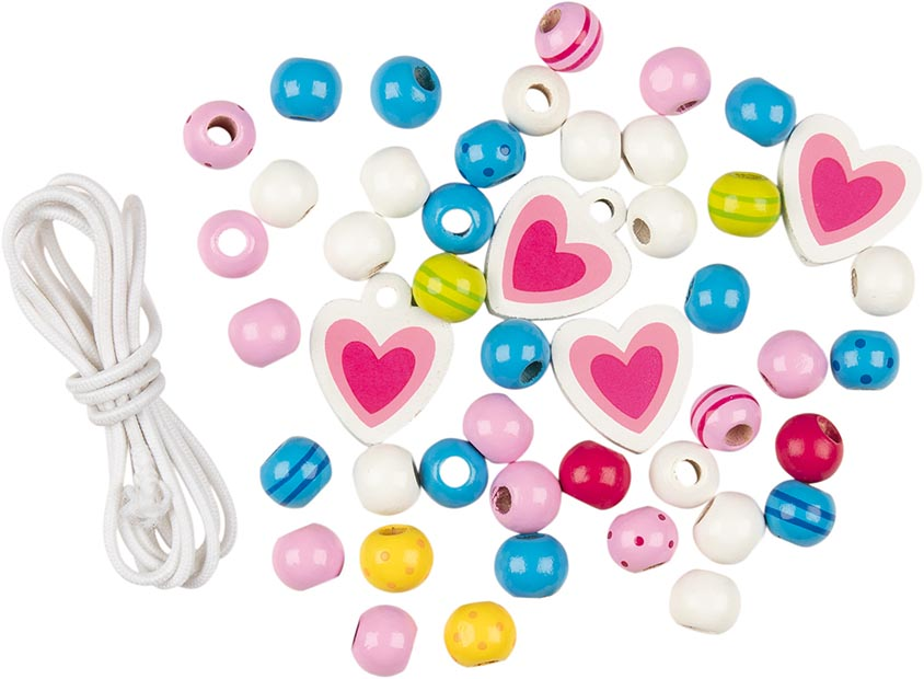 Perlen mit Bändern, Susibelle