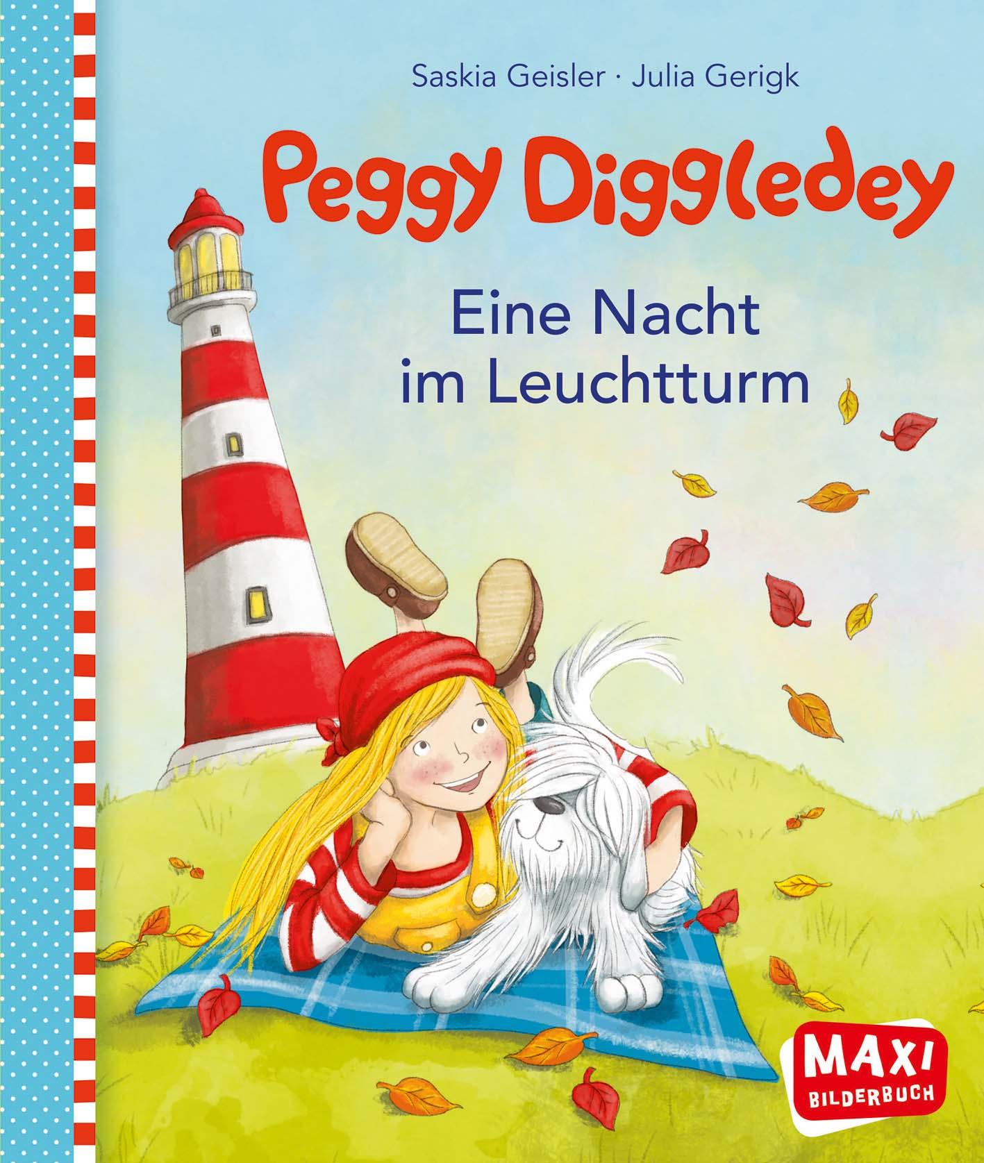 Maxibuch Peggy Diggledey - Eine Nacht im Leuchtturm