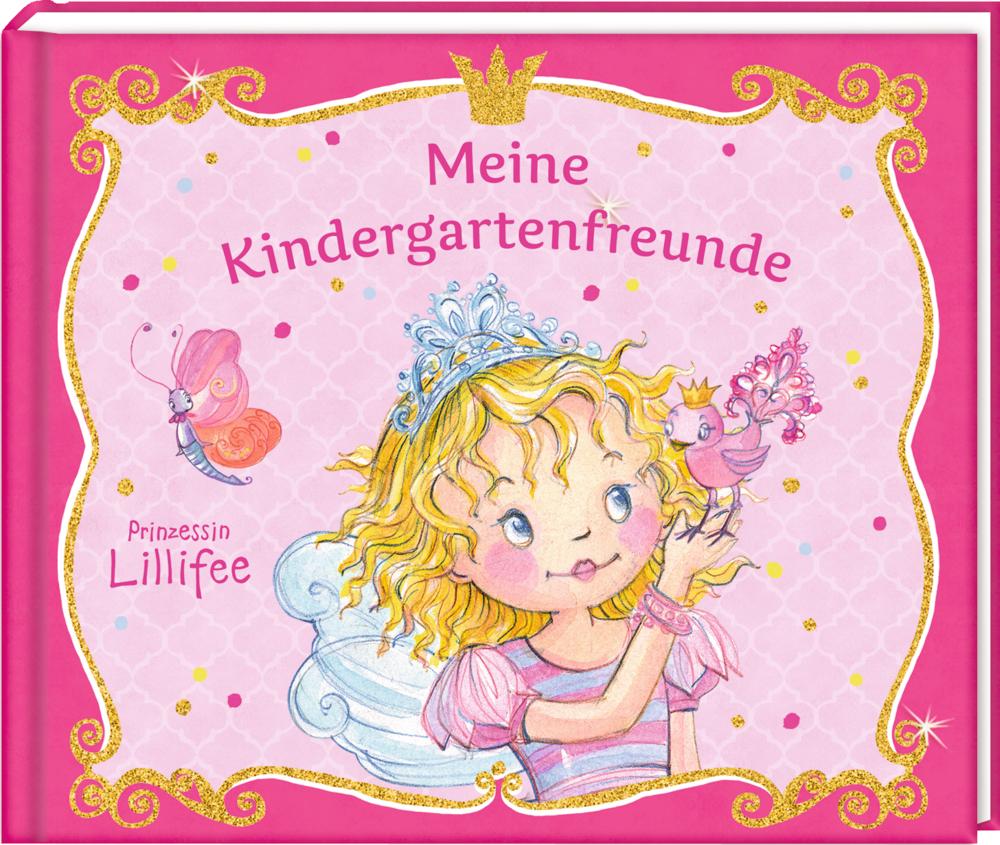 Meine Kindergartenfreunde - Freundebuch - Prinzessin Lillifee