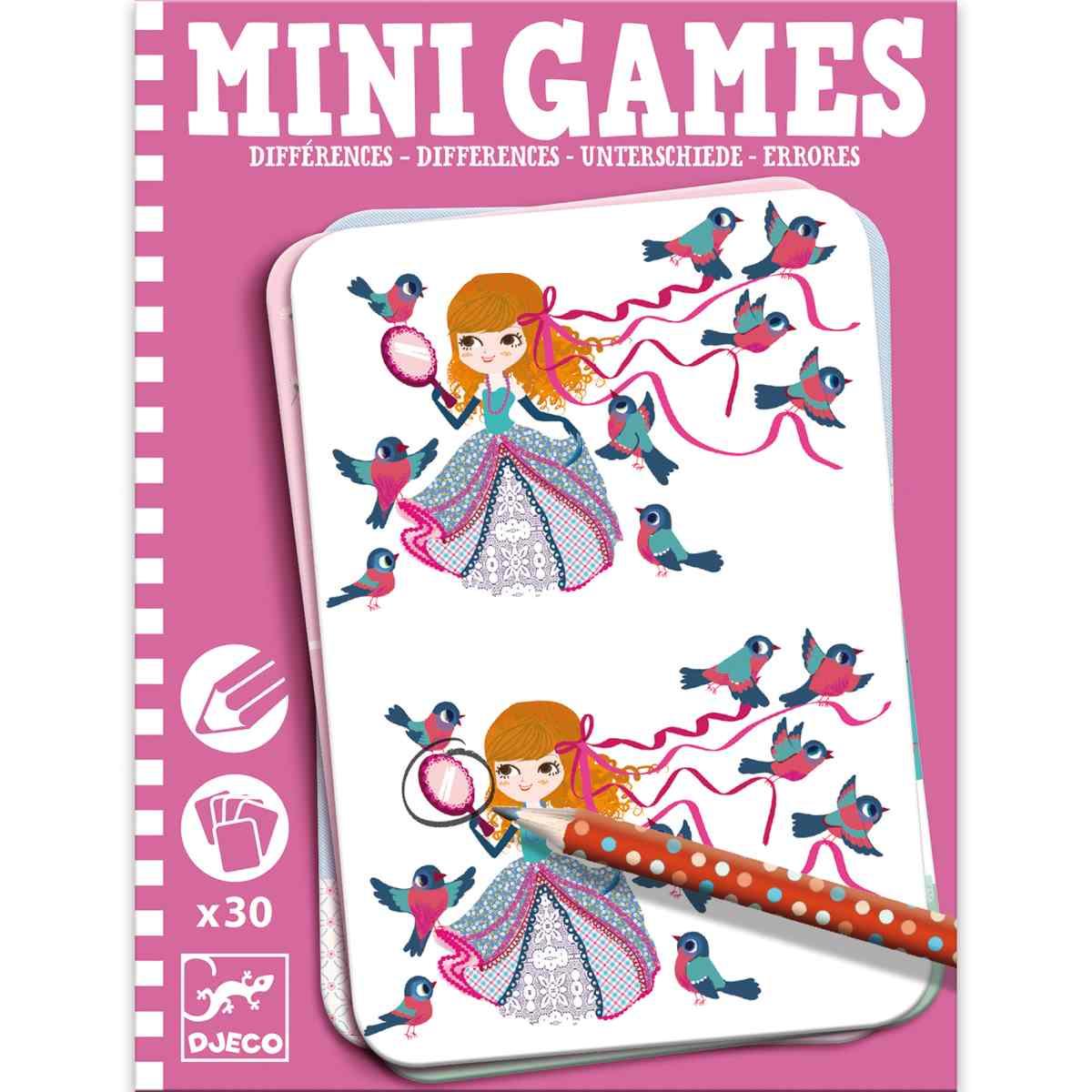 Mini Spiele: Unterschiede bei Léa
