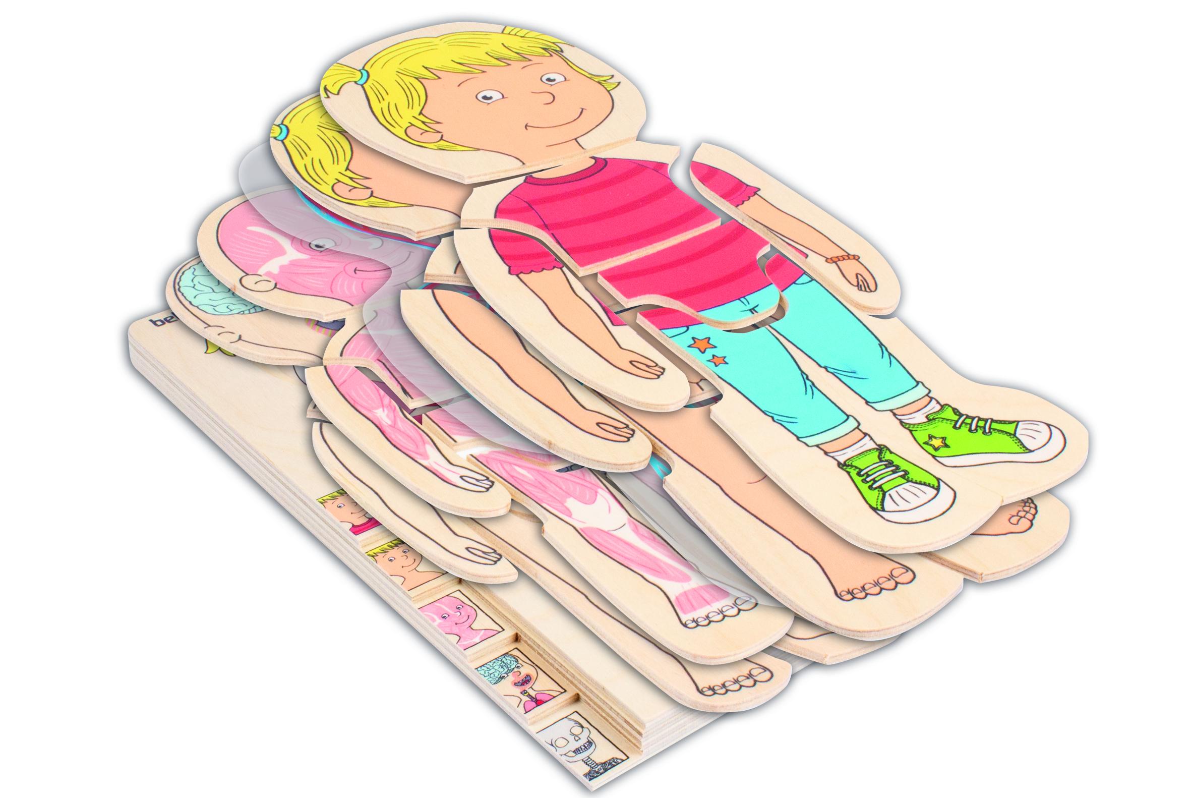"""Körper-Puzzle """"Mädchen"""""""
