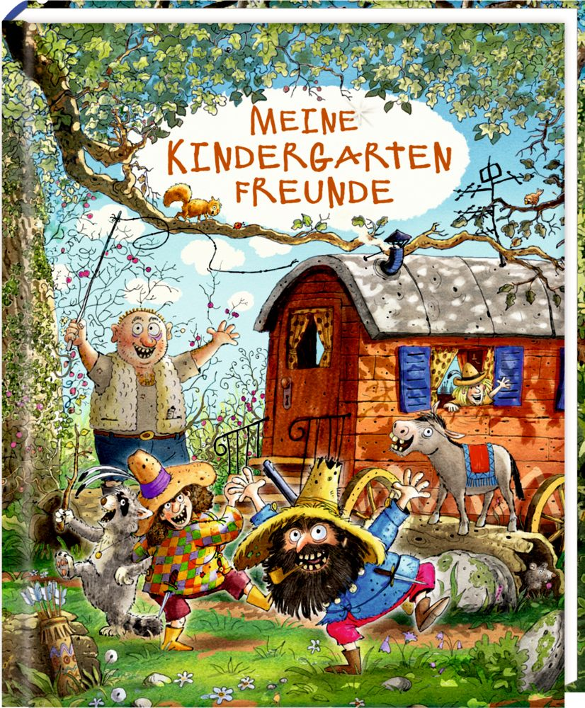 Meine Kindergartenfreunde - Freundebuch - Räuber Donnerpups