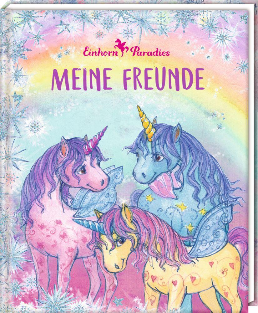 Meine Freunde - Freundebuch - Einhorn-Paradies