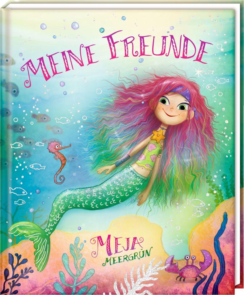 Meine Freunde - Freundebuch - Meja Meergrün