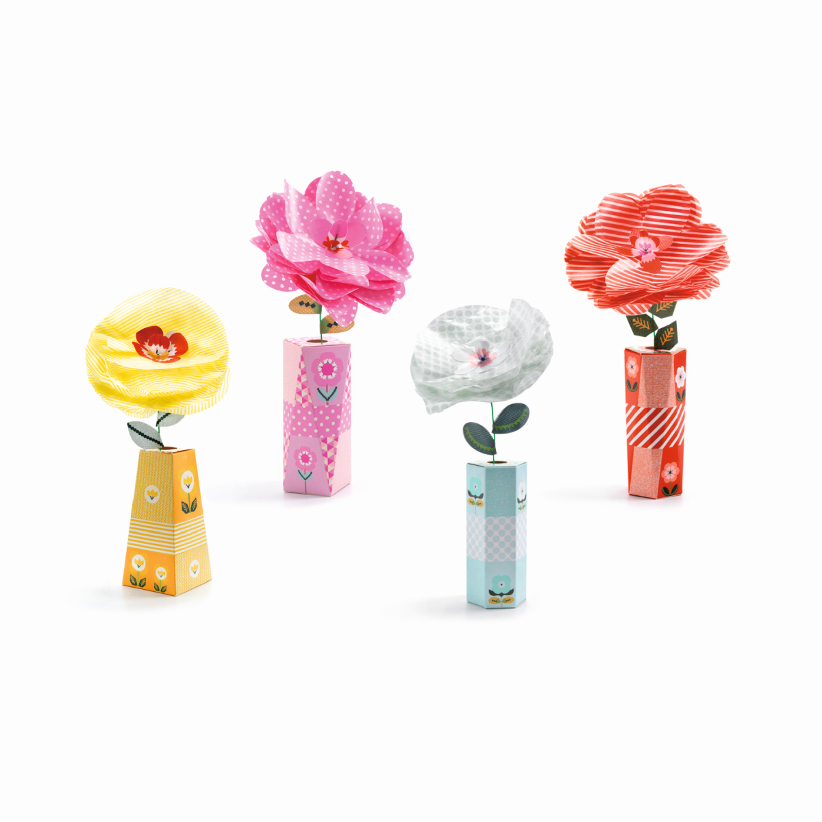 DIY: Blumen Retrochic