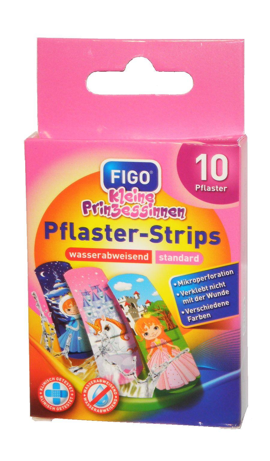 """FIGO Pflaster-Strips - Kinderpflaster mit Motiven """"Kleine Prinzessinnen"""""""