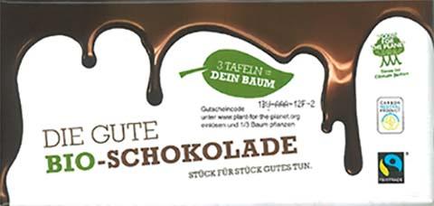 Die Gute Bio Schokolade