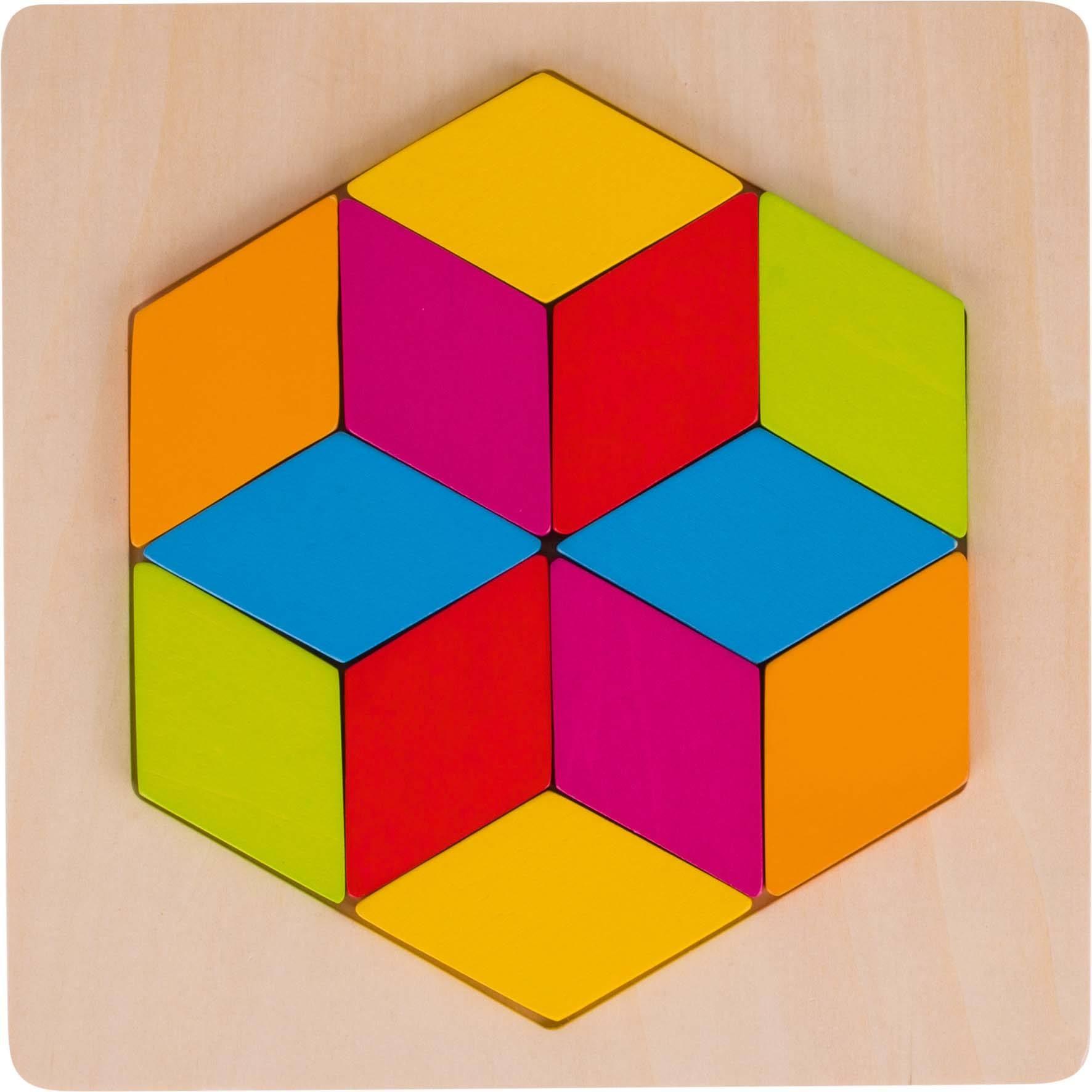 Einlegepuzzle Rhombus