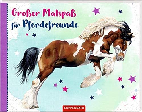 Großer Malspaß für Pferdefreunde