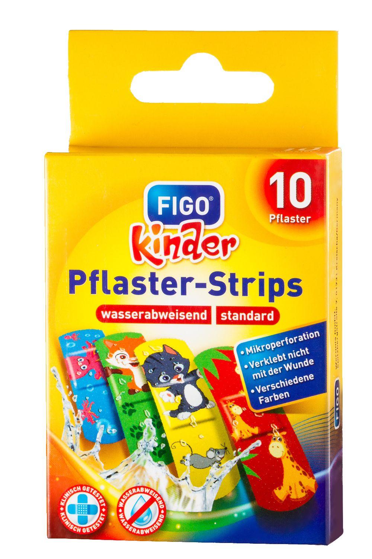 FIGO Pflaster-Strips - Kinderpflaster mit bunten Motiven