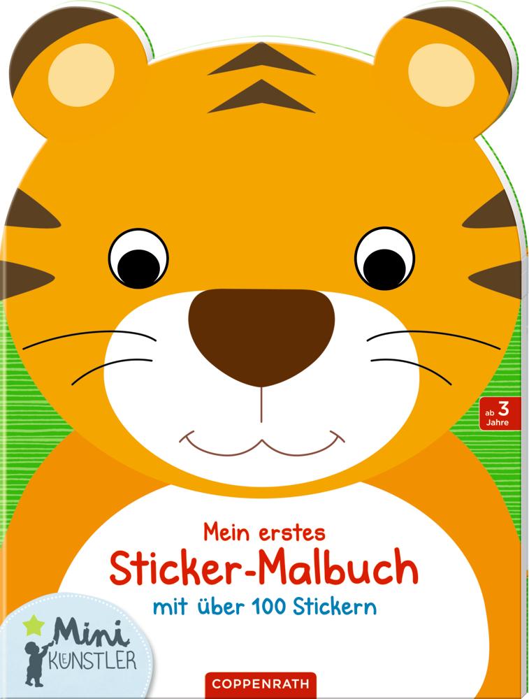 Mein erstes Sticker-Malbuch: Tiger (Mini-Künstler)