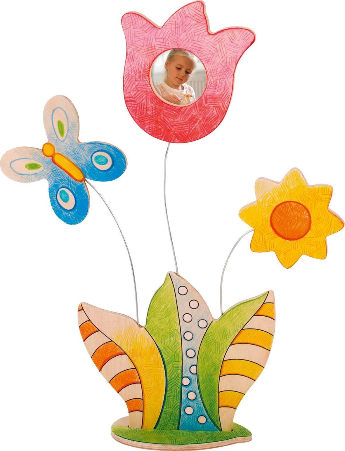 Bilderrahmen zum Anmalen, Blume