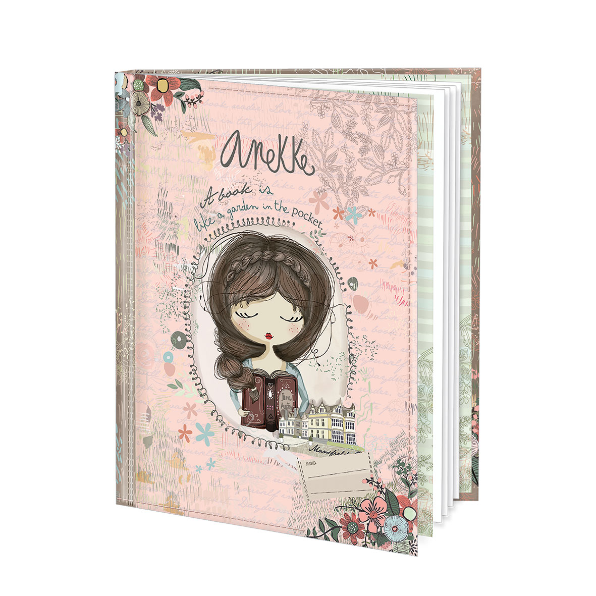 """kleines Notizbuch """"Anekke"""""""