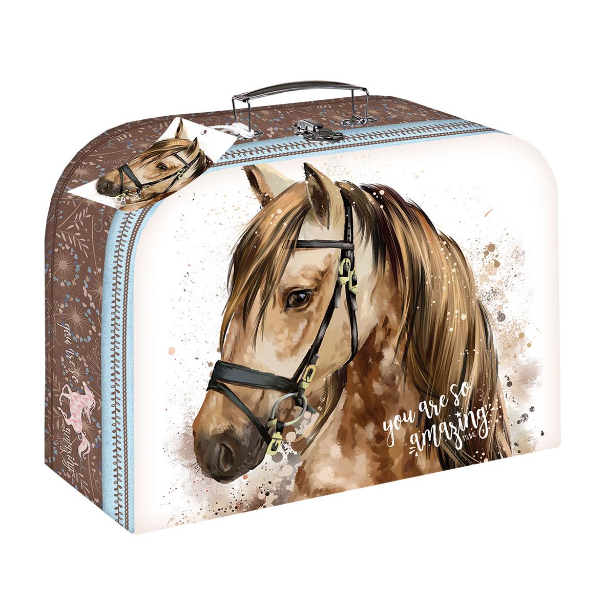 Spielekoffer - Pferdemotiv